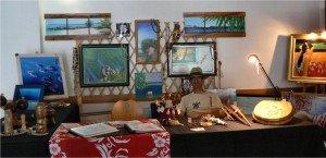 Mini-Heiva Porinetia 2012 et mes dernières créations dans TAHITI stand-300x145