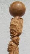 Bâton-sculpte