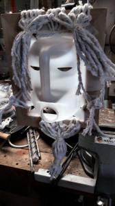 Masque-Bidon tresse